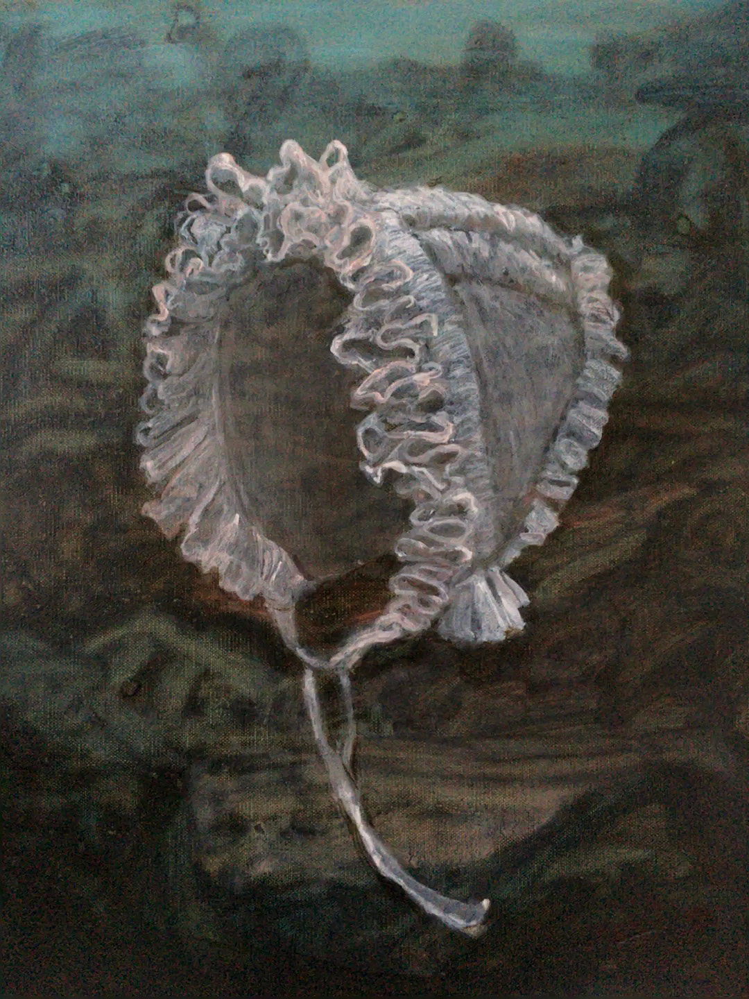 painting of bonnet