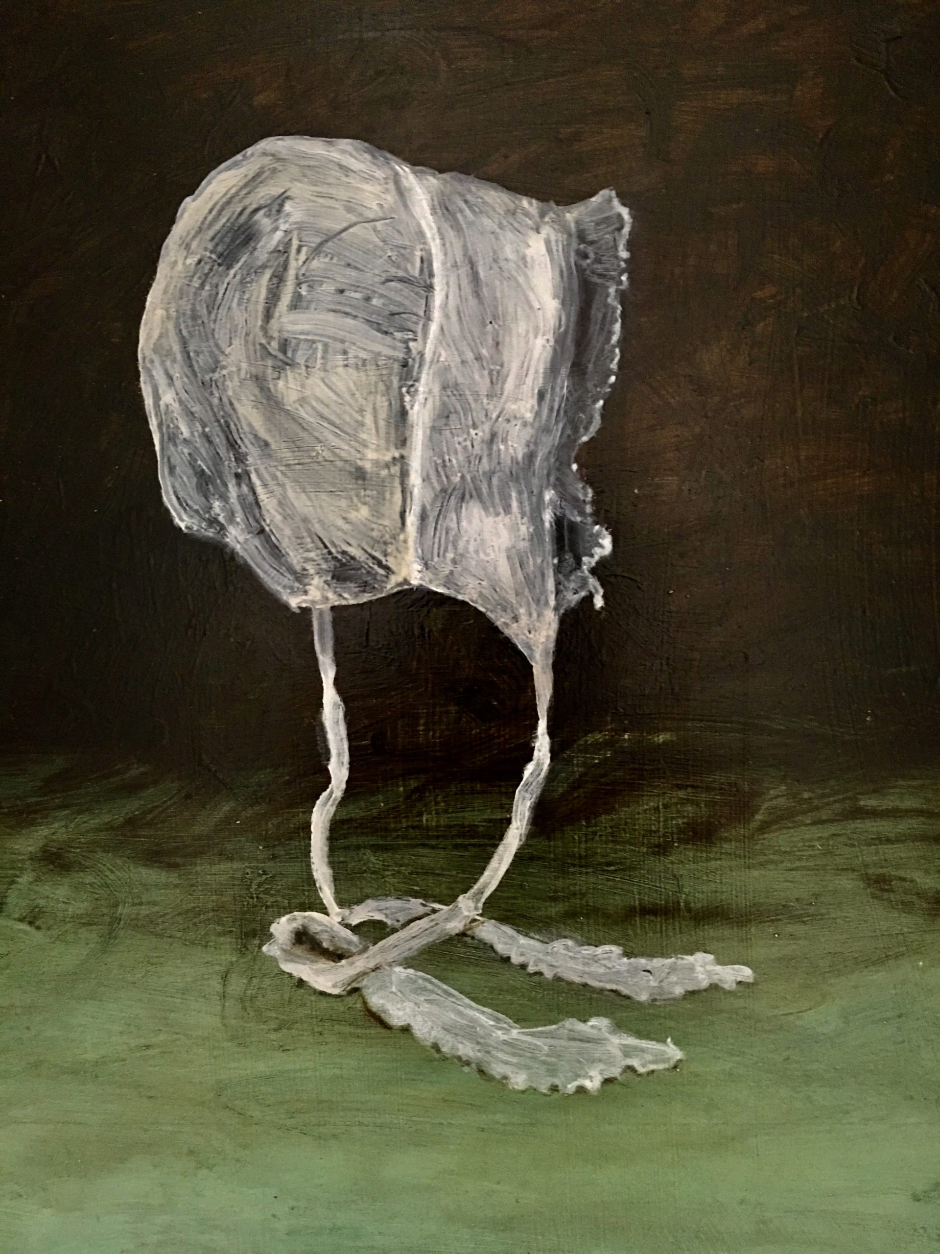 painting of a bonnet